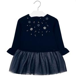 Παιδικό Φόρεμα Mayoral 19-04934-023 Μπλε Κορίτσι