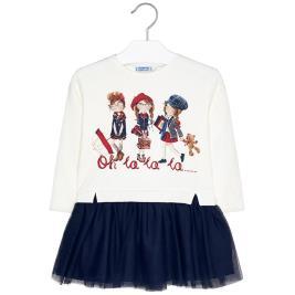 Παιδικό Φόρεμα Mayoral 19-04945-027 Μπλε Κορίτσι