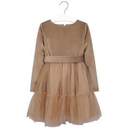 Παιδικό Φόρεμα Mayoral 19-07919-048 Μπεζ Κορίτσι