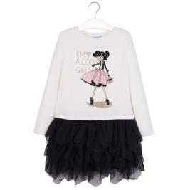 Παιδικό Φόρεμα Mayoral 19-07926-016 Μαύρο Κορίτσι