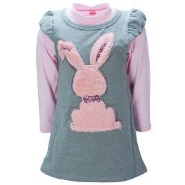 Παιδικό Φόρεμα Joyce 94404 Μελανζέ Κορίτσι
