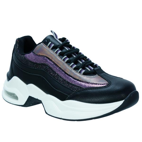 Γυναικείο Sneaker Renato Garini 18WS2078-2 Μαύρο Πολύχρωμο