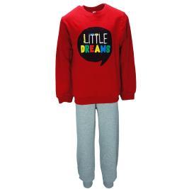 Παιδική Πυτζάμα Dreams 19612 Κόκκινο Αγόρι