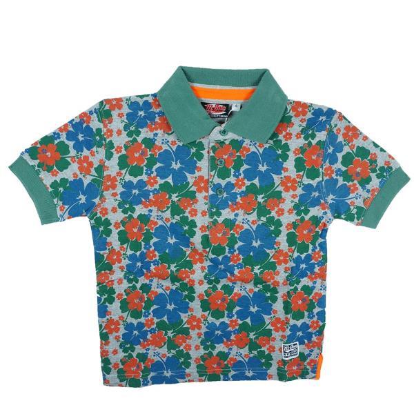60b7abdd654 Παιδική Μπλούζα M-One 15093-917-54 Φλοράλ Αγόρι