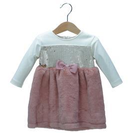 Βρεφικό Φόρεμα NCollege 30-8706 Εκρού Κορίτσι