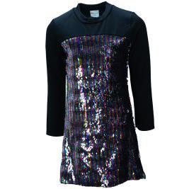 Παιδικό Φόρεμα NCollege 30-7058 Μαύρο Κορίτσι