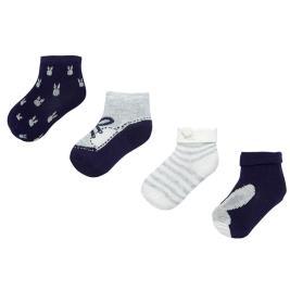 Βρεφικές Κάλτσες Σετ Mayoral 19-09171-049 Μπλε Αγόρι