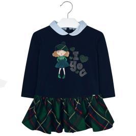Παιδικό Φόρεμα Mayoral 19-04939-040 Μπλε Κορίτσι