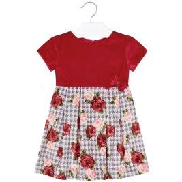 Παιδικό Φόρεμα Mayoral 19-04921-022 Κόκκινο Κορίτσι