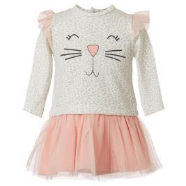 Βρεφικό Φόρεμα Energiers 14-119413-7 Ροδακινί Κορίτσι