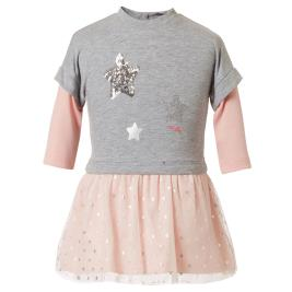 Βρεφικό Φόρεμα Energiers 14-119406-7 Μελανζέ Κορίτσι