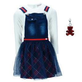 Παιδικό Φόρεμα Εβίτα 199260 Εκρού Κορίτσι