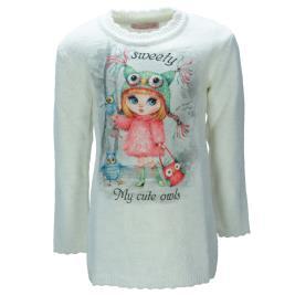 Παιδικό Φόρεμα Εβίτα 199278 Μπεζ Κορίτσι