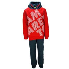 Παιδική Φόρμα-Σετ Amaretto B2986 Κόκκινο Αγόρι