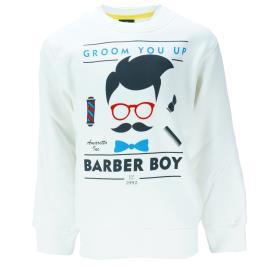 Παιδική Μπλούζα Amaretto B2984 Εκρού Αγόρι