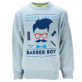 Παιδική Μπλούζα Amaretto B2984 Μελανζέ Αγόρι