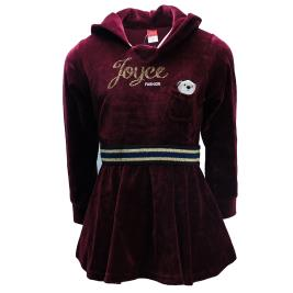 Παιδικό Φόρεμα Joyce 94406 Βυσσινί Κορίτσι