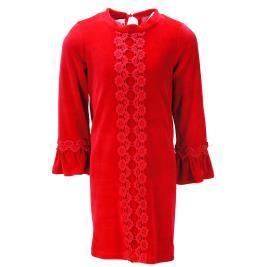 Παιδικό Φόρεμα MB 9766 Κόκκινο Κορίτσι