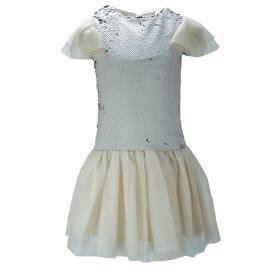 Παιδικό Φόρεμα MB 9808 Χρυσό Κορίτσι