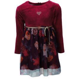 Παιδικό Φόρεμα NCollege 30-759 Μπορντώ Κορίτσι