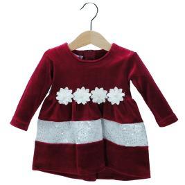 Βρεφικό Φόρεμα NCollege 30-8703 Μπορντώ Κορίτσι