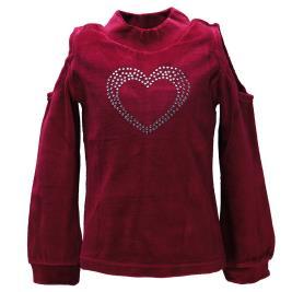 Παιδική Μπλούζα NCollege 30-9065 Μπορντώ Κορίτσι