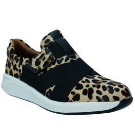 Γυναικείο Sneaker Clarks Un Rio Strap Λεοπάρ