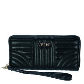 Γυναικείο Πορτοφόλι Verde 18-0000974 Μαύρο