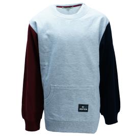Παιδική Μπλούζα NCollege 30-9017 Γκρι Αγόρι
