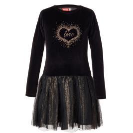 Παιδικό Φόρεμα Energiers 16-119207-7 Μαύρο Κορίτσι