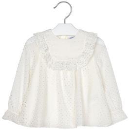 Παιδική Μπλούζα Mayoral 19-04103-036 Εκρού Κορίτσι