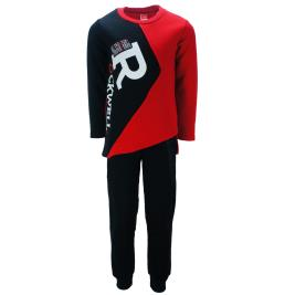 Παιδική Φόρμα-Σετ Joyce 93235 Κόκκινο Μαύρο Αγόρι