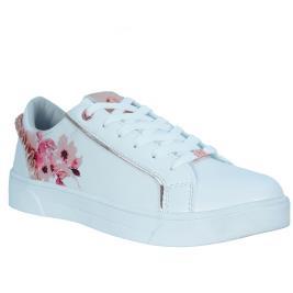 Γυναικείο Sneaker Renato Garini 19WC1220 Λευκό Λουλούδι