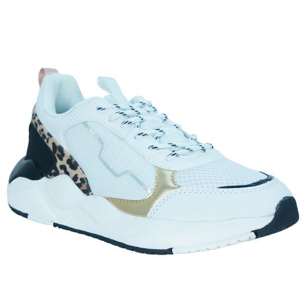 Γυναικείο Sneaker Renato Garini 19WC1059 Λευκό Λεοπάρ