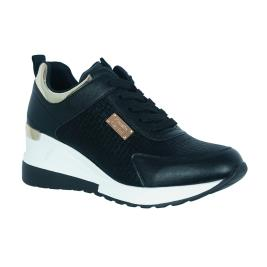 Γυναικείο Sneaker Renato Garini EX2218 Μαύρο