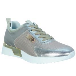 Γυναικείο Sneaker Renato Garini EX2111 Πλατίνα