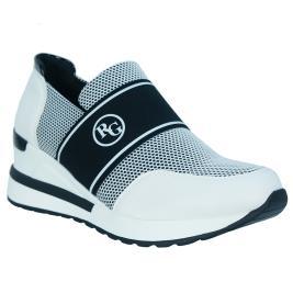 Γυναικείο Sneaker Renato Garini EX2158 (EX9933) Λευκό Μαύρο