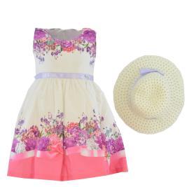 Παιδικό Φόρεμα Εβίτα 202206 Λευκό Κορίτσι