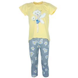 Παιδικό Σετ-Σύνολο Εβίτα 202308 Κίτρινο Κορίτσι