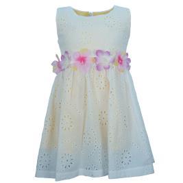 Παιδικό Φόρεμα Εβίτα 202214 Εκρού Κορίτσι