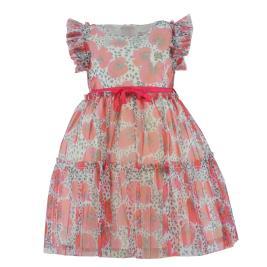 Παιδικό Φόρεμα Εβίτα 202224 Εμπριμέ Κορίτσι