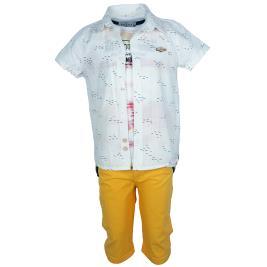 Παιδικό Σετ-Σύνολο Hashtag 202812 Εκρού Αγόρι