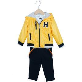 Βρεφικό Σετ-Σύνολο Hashtag 202604 Κίτρινο Αγόρι