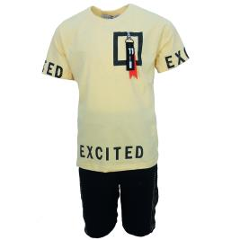 Παιδικό Σετ-Σύνολο Hashtag 202707 Κίτρινο Αγόρι