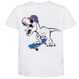 Παιδική Μπλούζα Energiers 12-220169-5 Λευκό Αγόρι
