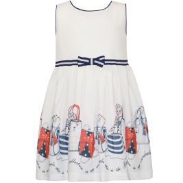 Παιδικό Φόρεμα Energiers 15-220344-7 Εκρού Κορίτσι