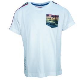 Παιδική Μπλούζα Energiers 12-220130-5 Λευκό Αγόρι
