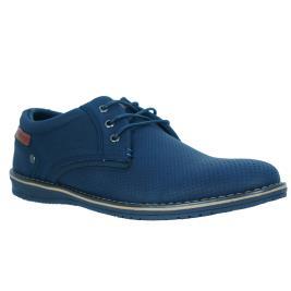 Ανδρικό Casual JK London FA018 (L0228) Μπλε Τρυπητό