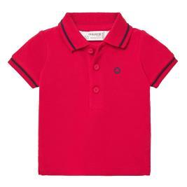 Βρεφική Μπλούζα Mayoral 20-00190-079 Κόκκινο Αγόρι