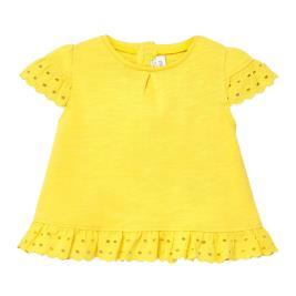 Βρεφική Μπλούζα Mayoral 20-01034-036 Κίτρινο Κορίτσι